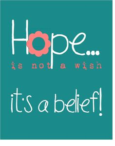 Hope quote + FREE Printable    #ToptoBottom #WearTeal #Belabumbum