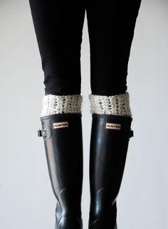 Boot Warmers Leg Warmers Boot Cuffs / THE ARCTICS  / by ozetta, $40.00