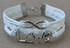Infinity Braceletkarma braceletinfinity braceletLOVE by yoyostyle