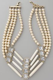 bling, necklac style, art necklac, accessori, pearls, pearl necklaces, inspir, jewelri, bead necklaces