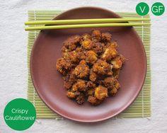 crispy cauliflower | vegan + gluten-free