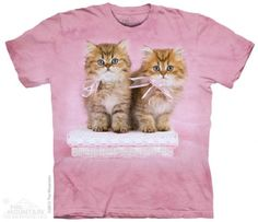 Pretty Kittens T-Shirt at theBIGzoo.com, a toy store that has shipped over 1.2 million items.