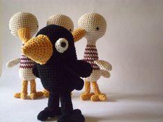 amigurimi, toy, picapau, crochet birdi, knit, digital cameras, crows, amigurumi inspir, crochet appliqu