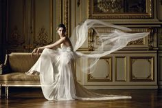 WHITE FLOWING GOWN! FROM: Fashion Vogue Style