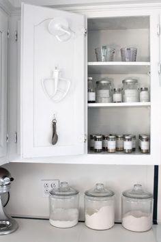 kitchen organization tips via www.julieblanner.com
