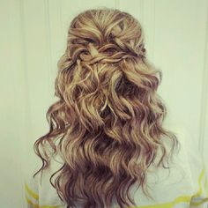 Want to try this curls and braids