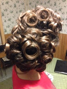 Apostolic hair up do. My hair is not thick enough, nor long enough to ...