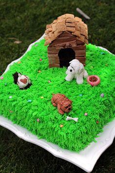 Worth Pinning:  Dog Cake
