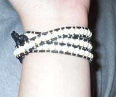 layered stone bracelet instructions - gotta make these. love it! must try! #ecrafty