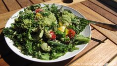 Kale Salad With Cashew-Parsley Dressing | Healthy Vegan Recipes