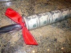 """""""Rolling in the Dough"""" Gift Idea"""