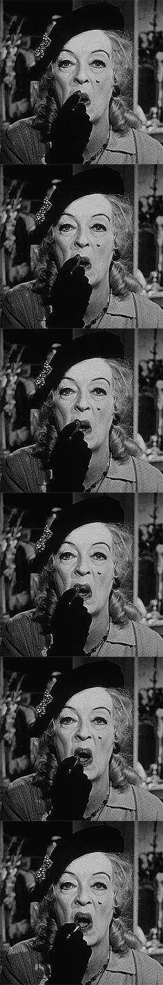 Bette Davis as 'Jane Hudson' in What Ever Happened to Baby Jane? (1962)