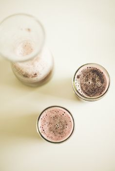 Blueberry pomegranate chia fresca via Food Loves Writing