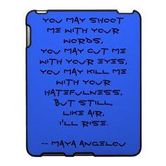 maya angelou still i