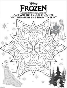 FREE frozen printable, Elsa and Anna, color sheet for FROZEN