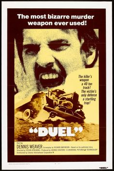 Duel - USA (1971) Director: Steven Spielberg (Original 74 minute TV premiere version)