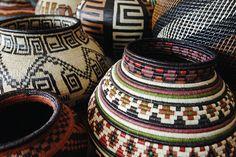 basket case, basket form, woven basket, basket weav