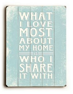 Misty Michelle Design Wood Sign: Isn't this the way every mom feels?! A rustic wooden sign (from $32) adds warmth to a home with a country vibe.