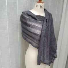 Ravelry: Winter Shadows wrap pattern by Louise Zass-Bangham libraries, shadow wrap, winter shadow, patterns, crochet, knit inspir, wrap pattern, shadows, knit pattern