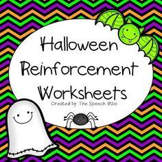 Halloween Reinforcement Freebie