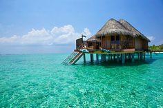 Kuramathi Island Resort, Maldives.