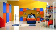 Cool teenage boys room!  goo.gl/33uo5