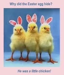 Easter Chick Joke Cartoon