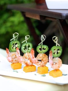Spicy Chardonnay Shrimp with Mango and Jalapeño
