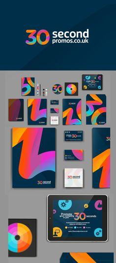 creative branding of 30secondpromos.co.uk