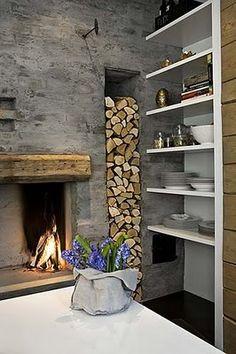 log storage...nice