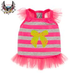 ... ruffles make this Bret Michaels Pet Rock dress rock – PetSmart $3.97