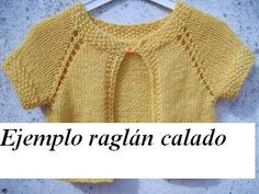 Curso de tejido a mano: Batita para bebé empezada desde el cuello