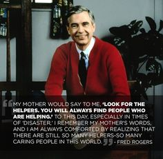 Mr. Rogers' Wonderful Advice On How To Deal With Tragic Events