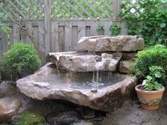 Neat water feature