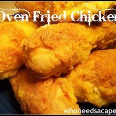 Oven Fried Chicken Recipe - ZipList