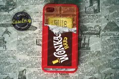Willy Wonka iPhone Case. Yes please. I just may eat my phone:)