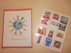 Environmental Print Classroom Book environmental print, print activ, environment print