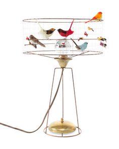 Trend Alert: Birds    La Volière table lamp by Mathieu Challières from the Conran Shop; conranusa.com.