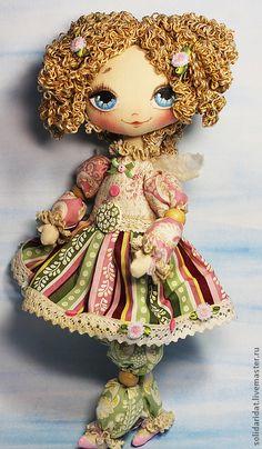 Muñecas hechas a mano perfumada.  Hechos a mano del gatito necesidades inmobiliarias del ángel - Masters Feria.  Hecho a mano.