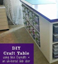 {DIY Craft Table!}