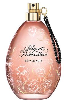 'Pétale Noir' Eau de Parfum, An exquisite fragrance from Agent Provocateur is a deep floral scent with a hint of Oriental mystique. Accents of precious woods are enhanced by musk crystals and sweet, spicy accords that ignite the senses.