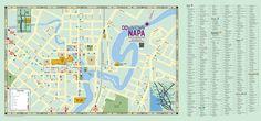 Map | Downtown Napa map