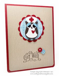 Crafty Creations by Beth: Get Well Owl
