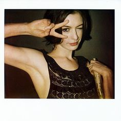 ANNE HATHAWAY  photo | Anne Hathaway    Role Model.