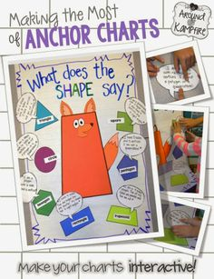Bright Ideas! Making the Most of Your Anchor Charts!