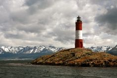 The lighthouse at the end of the world, Ushuaia, Tierra del Fuego, Argentina