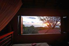 2nd floor bedroom with view