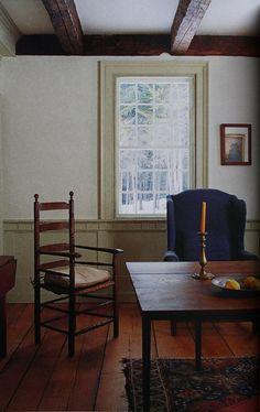 decor, primit pick, chair, floor, color, primit set, coloni, beauti simplic, ceiling beams