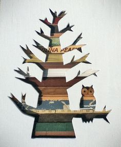 love this artist's salvaged wood pieces!