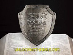 """""""Every word of God proves true; He is a shield to those who take refuge in Him."""" Proverbs 30:5"""